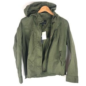 NWT Lucky Brand Green Jacket Size M